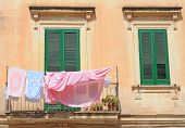Laundry in Lecce, Italy