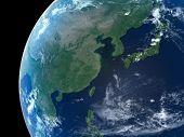 Earth - East Asia