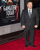 LOS ANGELES, CA - JANUARY 7: Mister Cartoon arrives at the premiere of Gangster Squad at Grauman's C