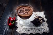 Dark And Delicate Chocolate Mousse With Chilli Pepper