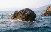 Sea And Rocks In Crimea