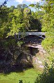 Minneopa State Park Bridge And Gorge