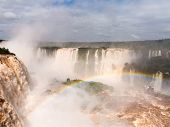Waterfall At Iguassu Falls
