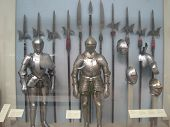 pic of olden days  - Some knights with their weapons taken from the olden days - JPG
