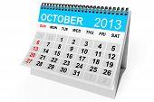 Calendar October 2013
