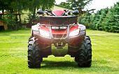 stock photo of four-wheel drive  - ATV  - JPG