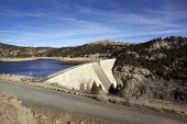 picture of gross  - Gross Dam Colorado - JPG
