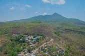 Mountain Village In Myanmar