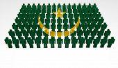 Mauritania Flag Parade