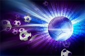 stock photo of pinky  - Soccer Theme - JPG