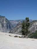cliffs off the Panorama Trail in Yosemite