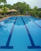 Outdoor resort pool swimming pool
