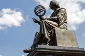 Nicolaus Copernicus Memorial In Warsaw