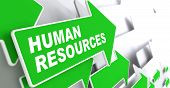 Human Resources. Business Concept.