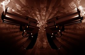 picture of gangsta  - Grunge Revolvers  - JPG