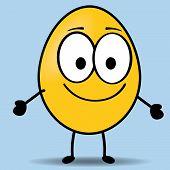 egg shaped emoticon
