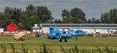 Ukrainian SU-27 display during Radom Air Show 2013