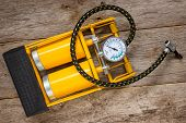 Yellow Inflator With Gauge