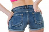 Texas Shorts Rear