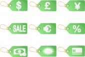 Shopping Discount Labels