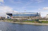 Vicente Calderon Over River