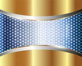 Abstract Metallic Background