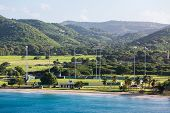 Cricket Field On The Coast Of St Croix