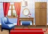 Interior design - big modern living room