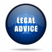 legal advice internet icon