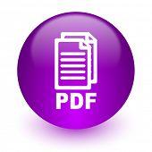 pdf internet icon,