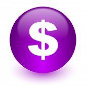 dollar internet icon