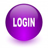 login internet icon