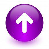 up arrow internet icon