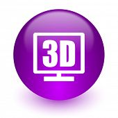 3d display internet icon