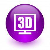 3d display internet icon