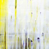 Abstract painting with grungy surface