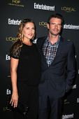 LOS ANGELES - AUG 23:  Scott Foley at the 2014 Entertainment Weekly Pre-Emmy Party at Fig & Olive on
