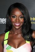 LOS ANGELES - AUG 23:  Aja Naomi King at the 2014 Entertainment Weekly Pre-Emmy Party at Fig & Olive