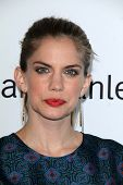 LOS ANGELES - AUG 23:  Anna Chlumsky at the 3rd Annual Women Making History Brunch at Skirball Cente