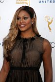 LOS ANGELES - AUG 23:  Laverne Cox at the Television Academy's Perfomers Nominee Reception at Pacifi