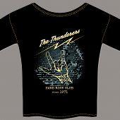 Hard rock t-shirt template