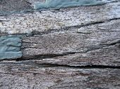 Close up of Old Wooden Plank