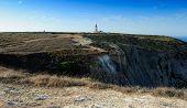 The Coast And Lighthouse, Cape Espichel, Portugal