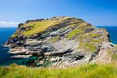 Tintagel Head Cornwall England