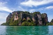 Limestone landscape at Railay