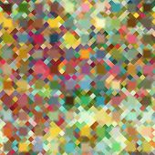 art abstract colorful geometric seamless pattern; background in rainbow colors
