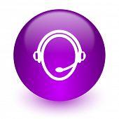 customer service internet icon