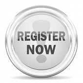 register now internet icon