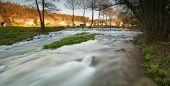 Beautiful River In Galicia, Spain
