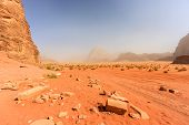 Lawrence Of Arabia's House (what's Left Of It).  Wadi Rum, Jordan